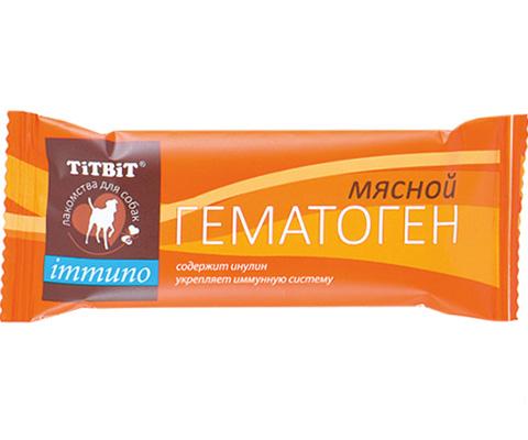 Лакомство Tit Bit Immuno для собак гематоген мясной (1 шт)