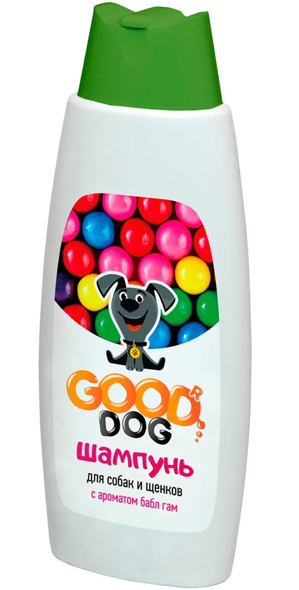 Good Dog шампунь для собак и щенков с ароматом бабл гам (250 мл)