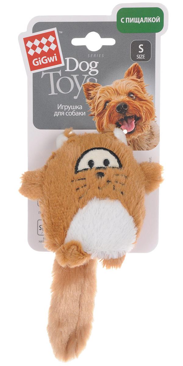 Игрушка для собак GiGwi Лиса с большой пищалкой 18 см (1 шт)