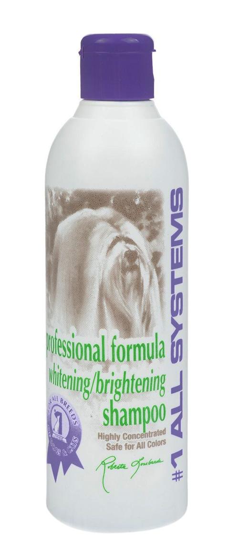 #1 All Systems Whitening Shampoo шампунь отбеливающий для собак и кошек для яркости окраса (250 мл)