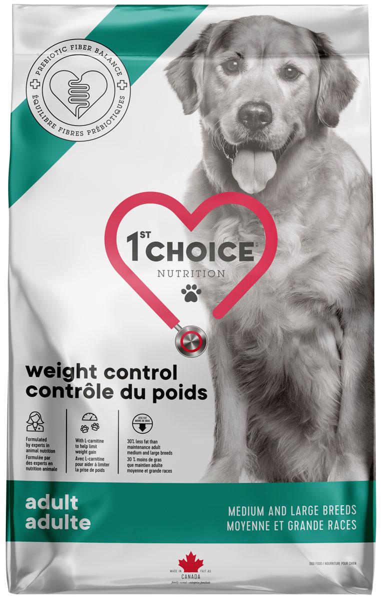 1st Choice Care Dog Adult Medium & Large Breeds Weight Control диетический для взрослых собак средних и крупных пород курицей (10 кг)