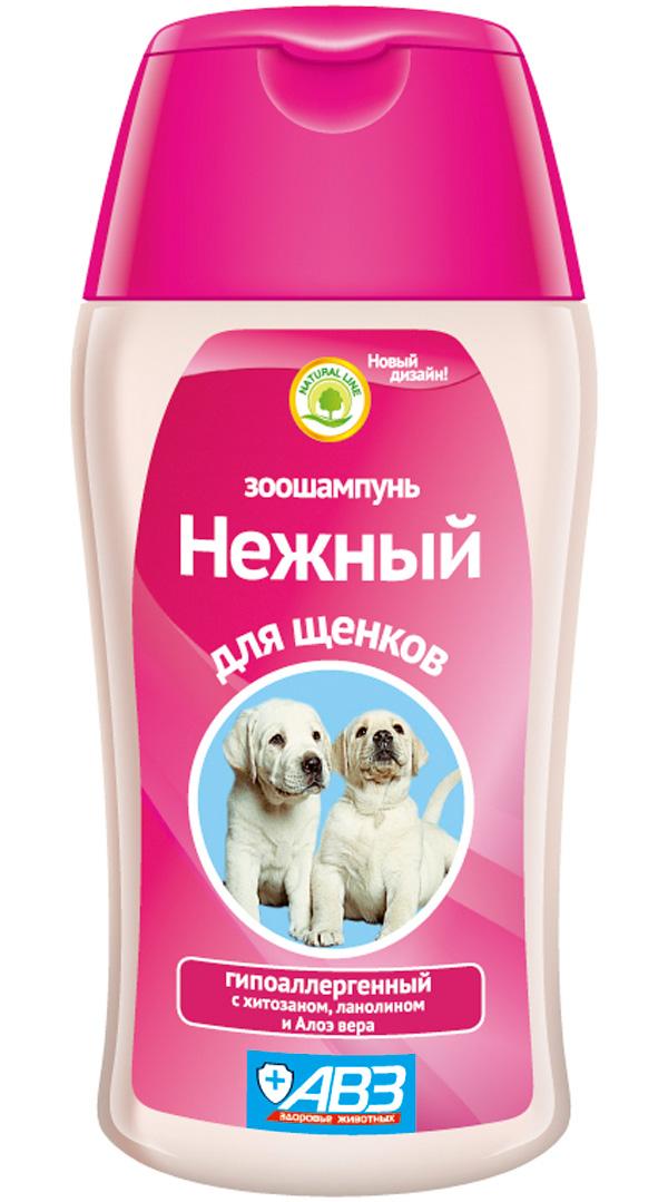 Шампунь Нежный гипоаллергенный для щенков авз (180 мл)