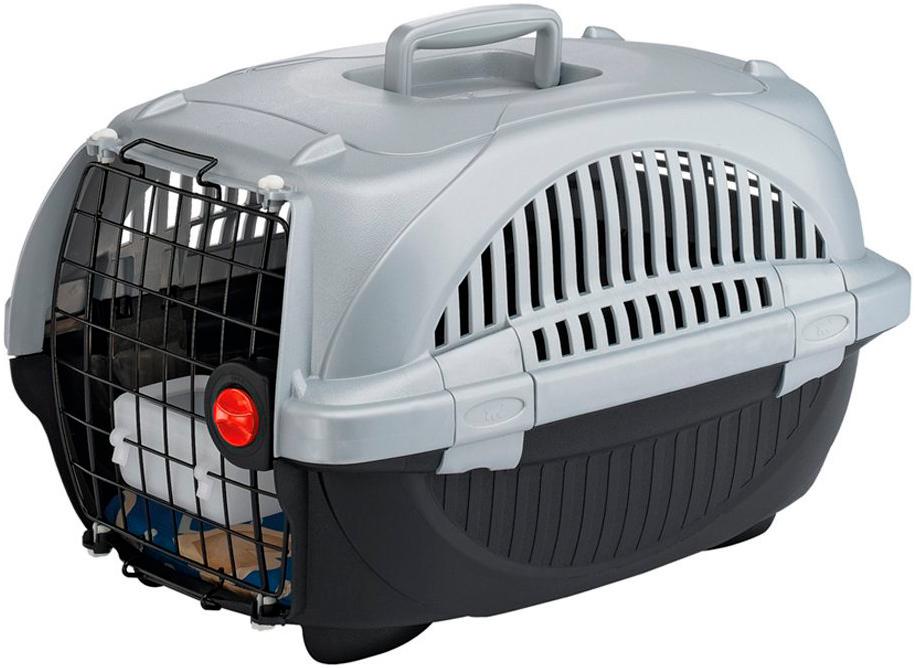 Переноска Ferplast Atlas Deluxe 20 для мелких собак и кошек 57.6х37.4х33 см (1 шт) переноска ferplast atlas 20 el для мелких собак и кошек 58х37х32 см бюджет 1 шт