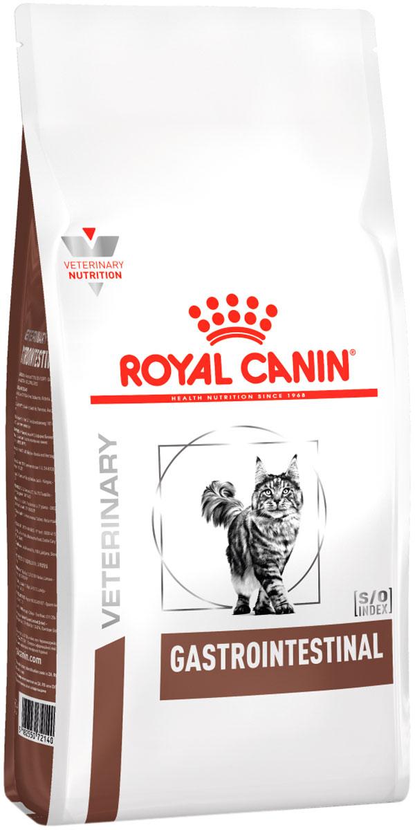 Royal Canin Gastrointestinal для взрослых кошек при заболеваниях желудочно-кишечного тракта (2 кг)