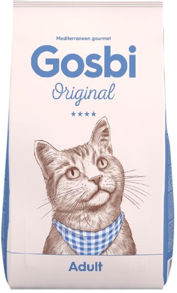 Gosbi Original Cat Adult для взрослых кошек с курицей  (3 кг)