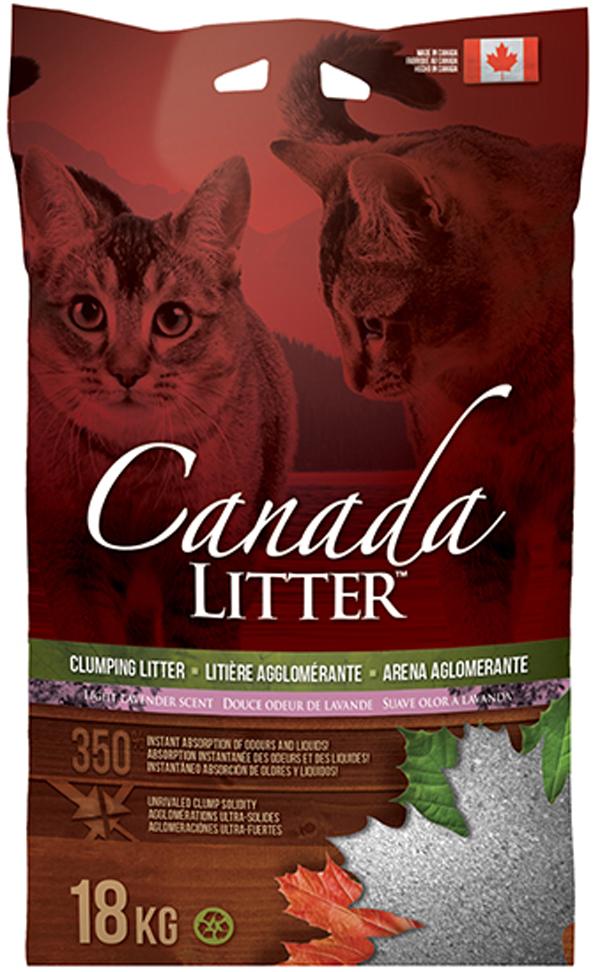 Фото - Canada Litter наполнитель комкующийся для туалета кошек Запах на замке с ароматом лаванды (6 кг) наполнитель intersand extreme classic hygienic litter впитывающий без ароматизатира для кошек 6 87кг л14212