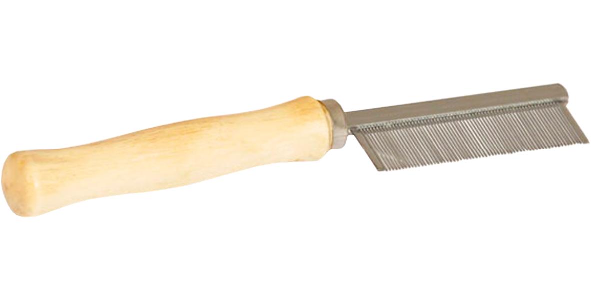 Расческа Triol 307m Классика с деревянной ручкой 52 зубца (1 шт)