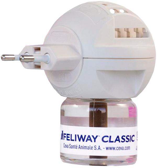 Феромон Feliway Classic Феливей Классик для кошек электрический диффузор и сменный флакон Ceva (48 мл)
