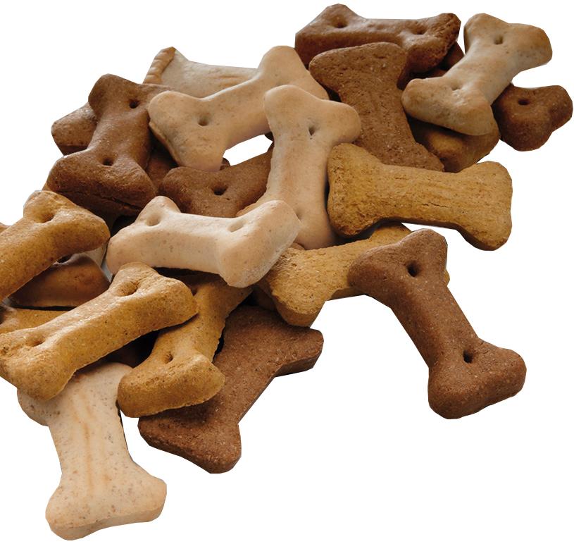 Лакомство Mera Miniknochen Mix для собак всех пород хрустящие косточки 2,5 кг (1 шт)