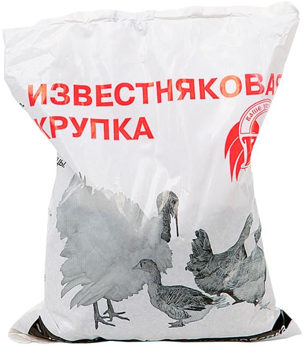 Известняковая крупка для всех видов с/х птиц Ваше Хозяйство 1 кг (1 шт) добавка кормовая для кур уток гусей и другой с х птицы ваше хозяйство крепковит 900 гр 1 шт