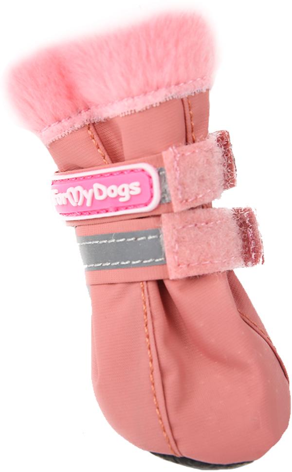 For My Dogs сапоги для собак розовые Fmd640-2019 P (5)