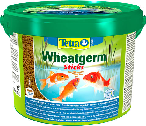 Tetra Pond Wheatgerm Sticks   Тетра