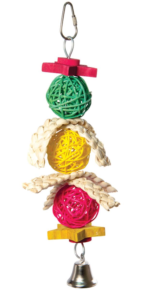Игрушка для птиц Triol Плетеные шарики
