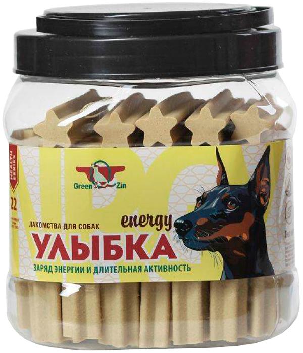 Лакомство Green Qzin Улыбка Energy №22 для собак всех пород палочки мягкие жевательные для зубов и энергии 1130 гр 55 шт (1 шт)