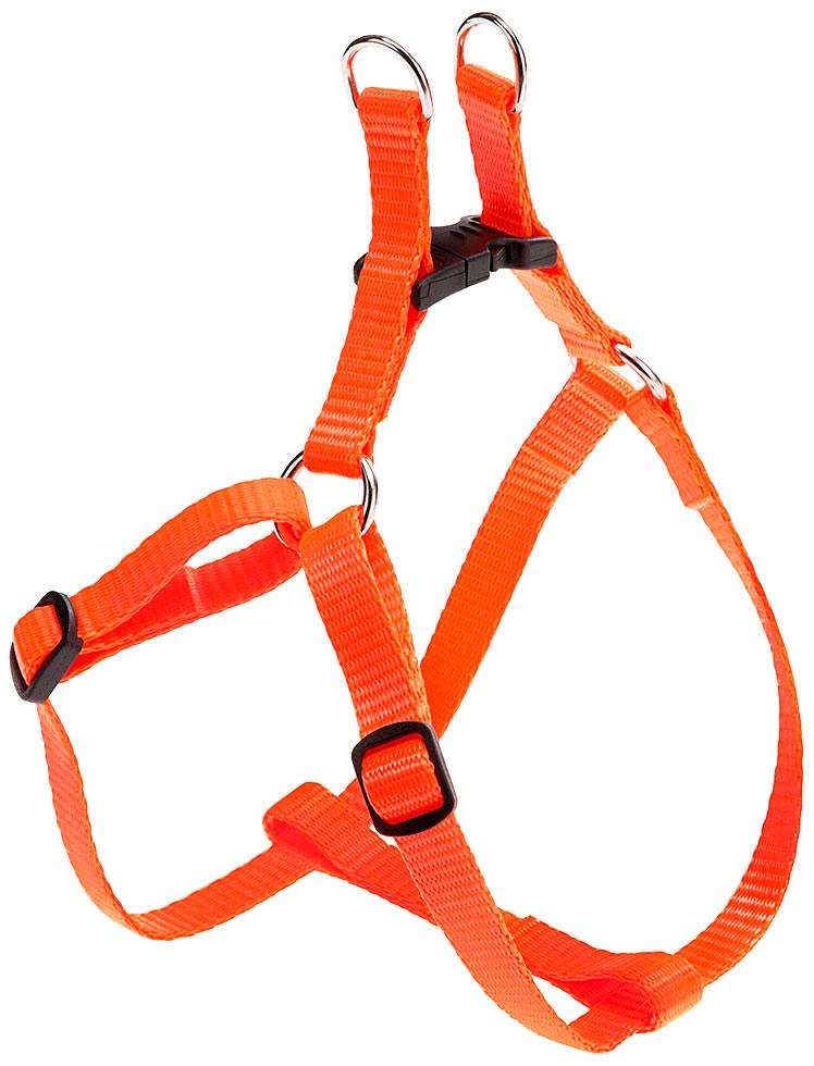 Шлейка для собак маленьких пород Ferplast Easy P Extra Small оранжевая (1 шт) фото