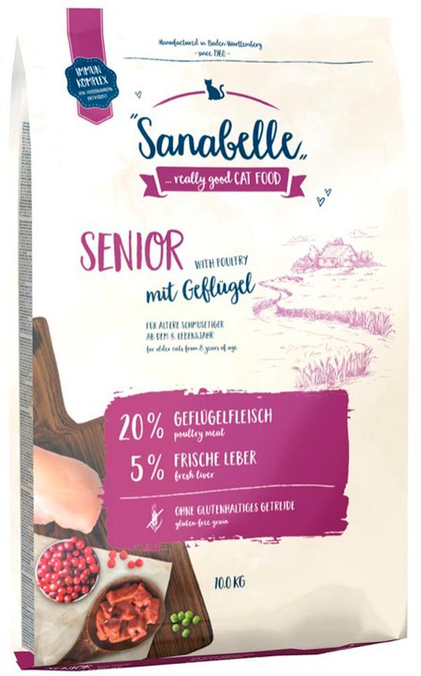 Bosch Sanabelle Senior для пожилых кошек (10 кг)