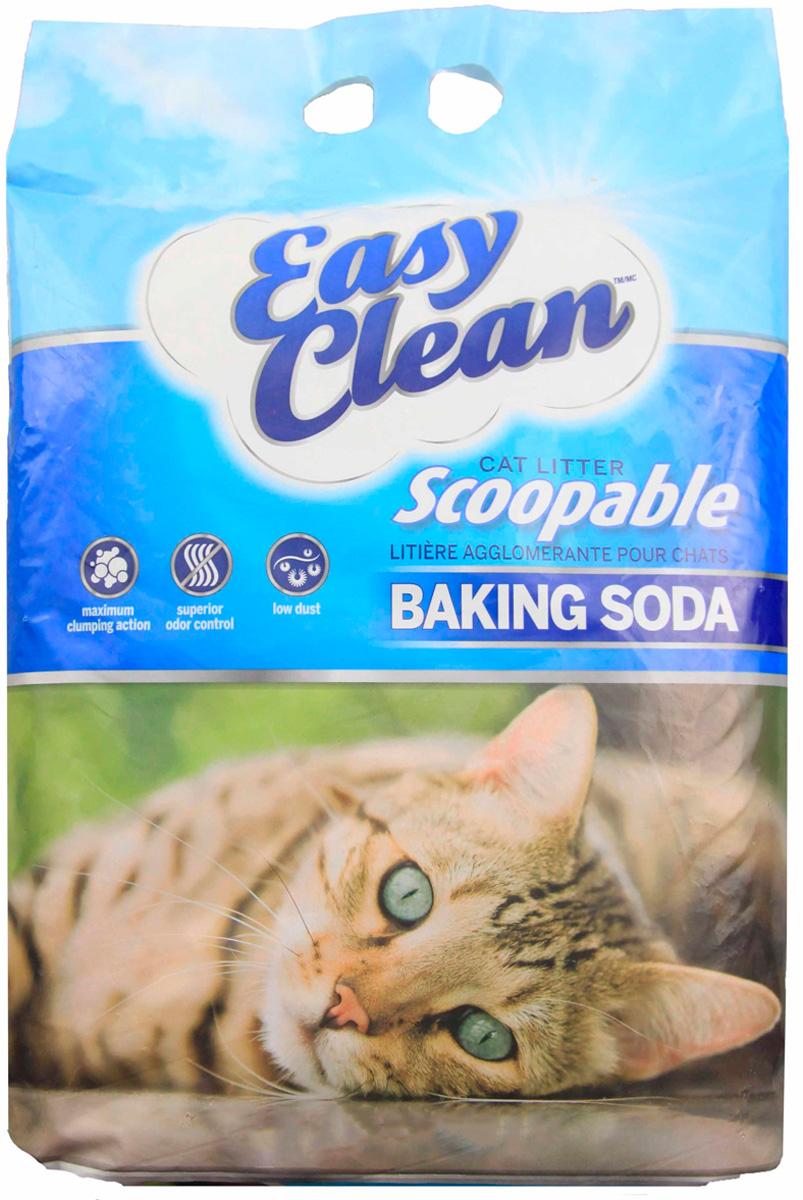 Easy Clean Baking Soda наполнитель комкующийся для туалета кошек с содой (9,07 кг)