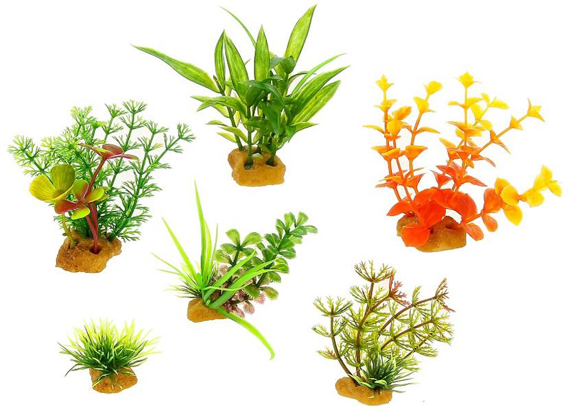 Набор пластиковых растений для аквариума Prime Pr-ys-70402 уп. 6 шт (1 уп) 0 pr на 100