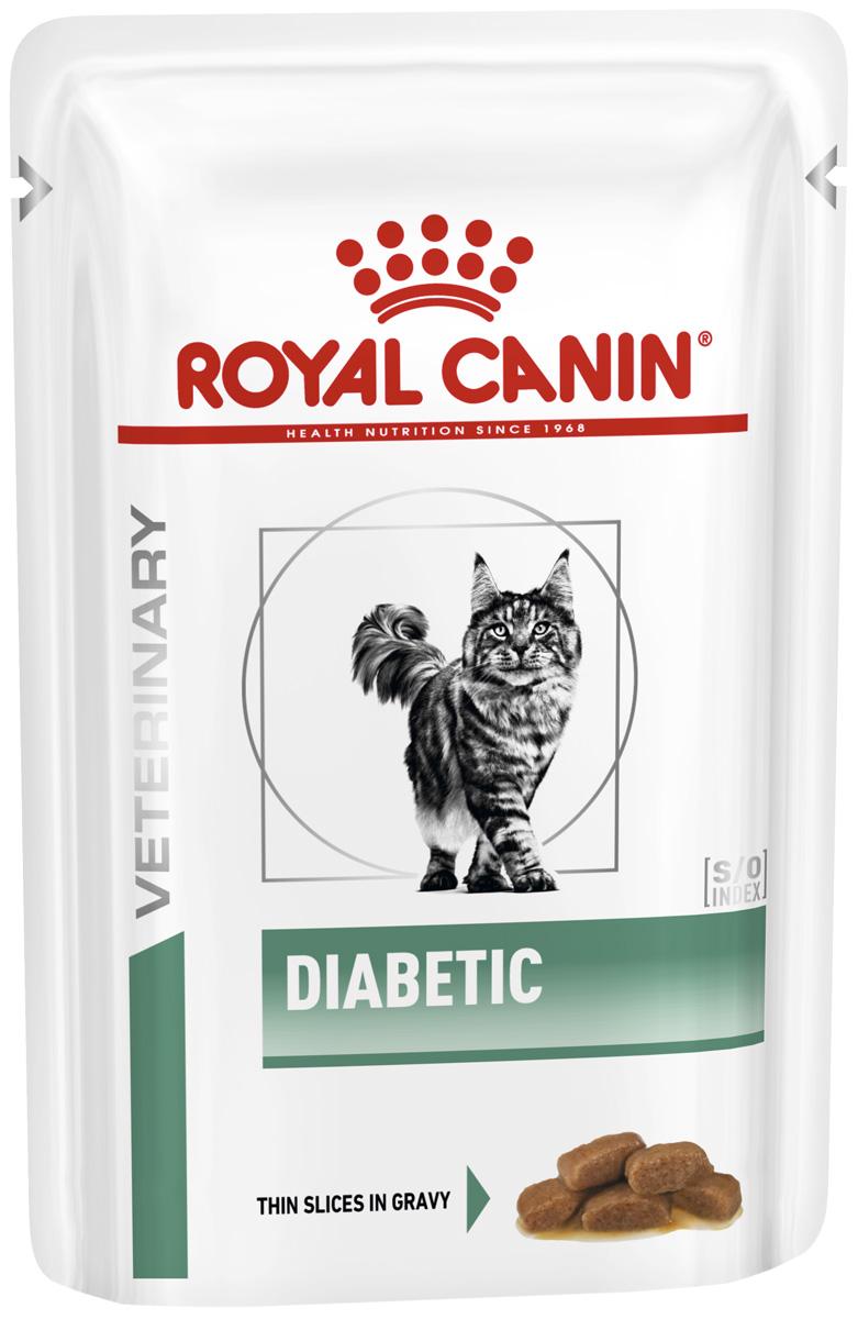 Royal Canin Diabetic для взрослых кошек при сахарном диабете 85 гр (85 гр)