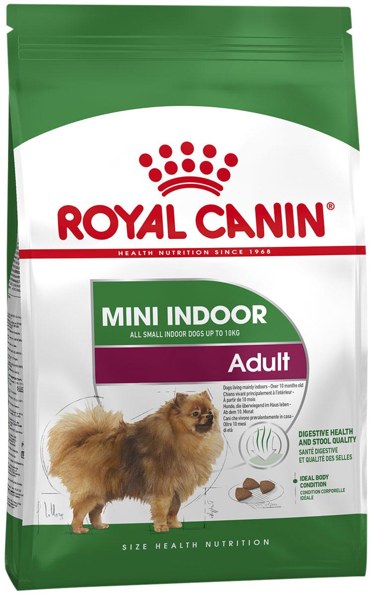 Купить со скидкой Royal Canin Mini Indoor Life Adult для взрослых собак маленьких пород живущих дома (3 + 3 кг)