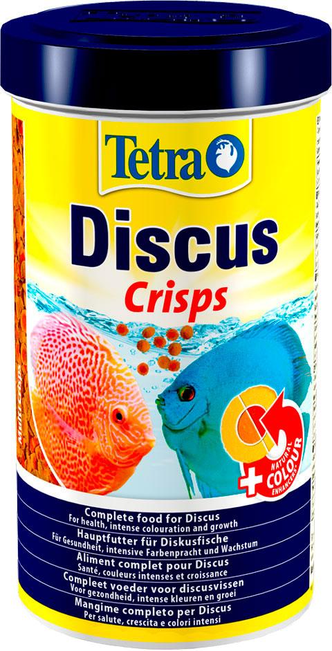 Tetra Discus Crisps корм чипсы для дискусов (500 мл) фото