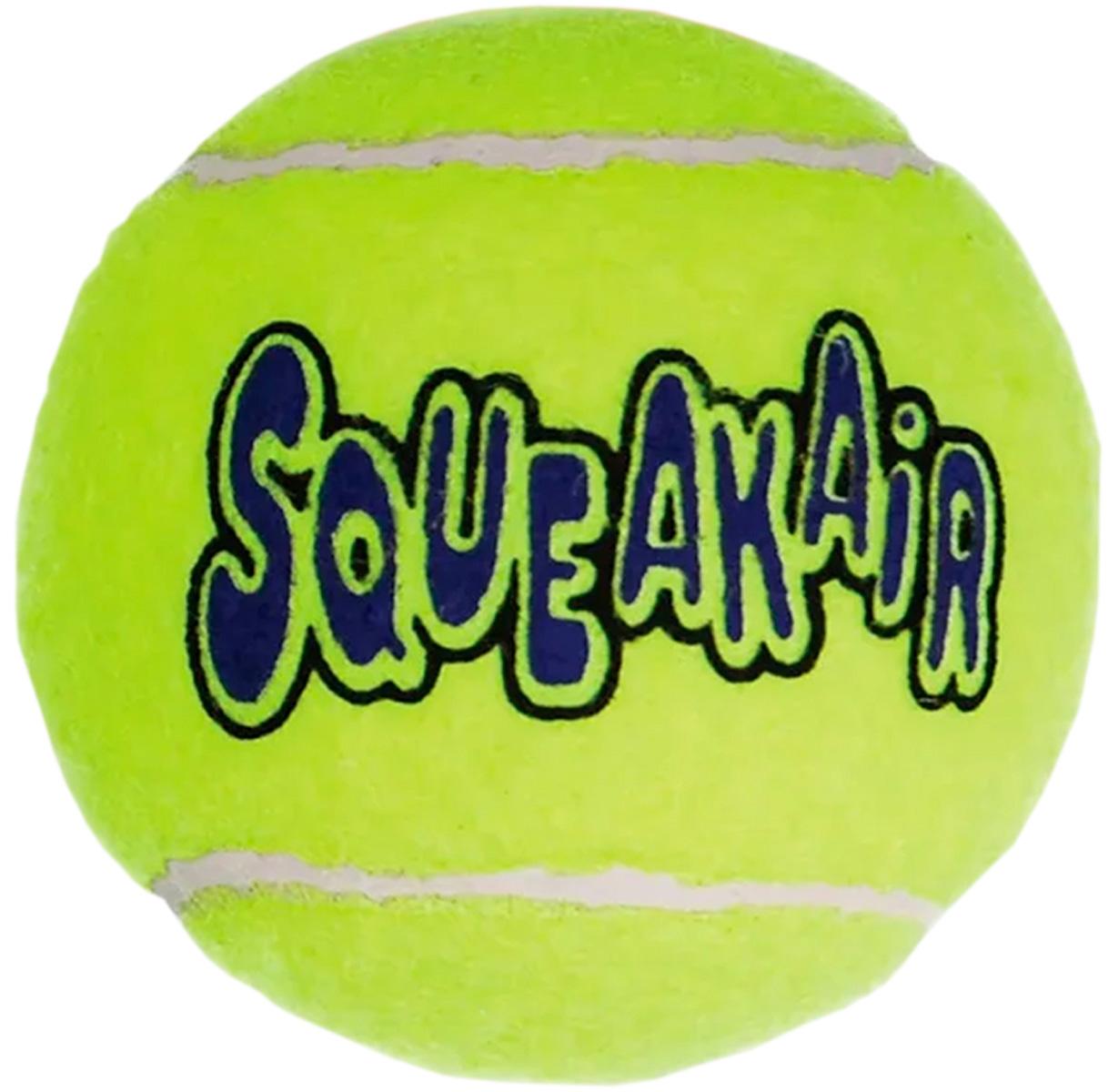 Игрушка для собак Kong Air Мячик теннисный (средняя)
