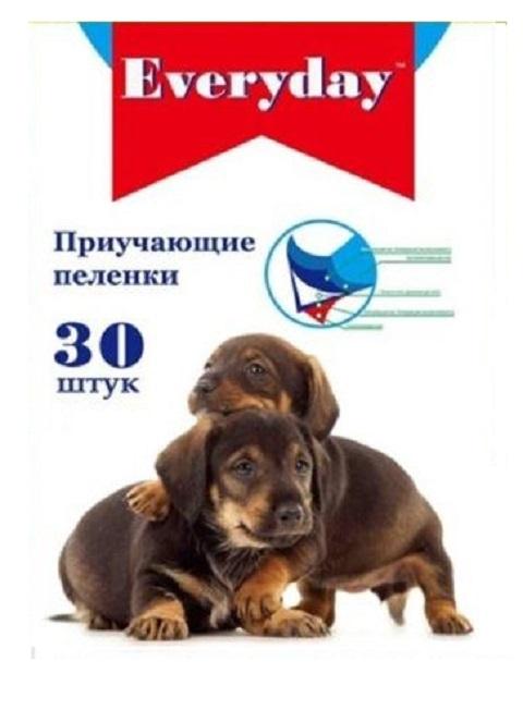 Everyday пеленки впитывающие гелевые для животных, 60 х 60 см (10 шт)