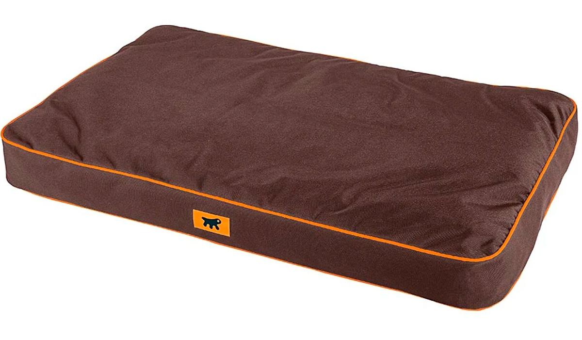 Подушка для собак и кошек Ferplast Polo 65 съемный непромокаемый чехол нейлон коричневая 65 х 40 х 8 см (1 шт)