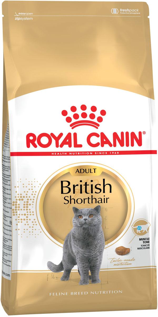 Royal Canin British Shorthair Adult для взрослых британских короткошерстных кошек (2 кг)