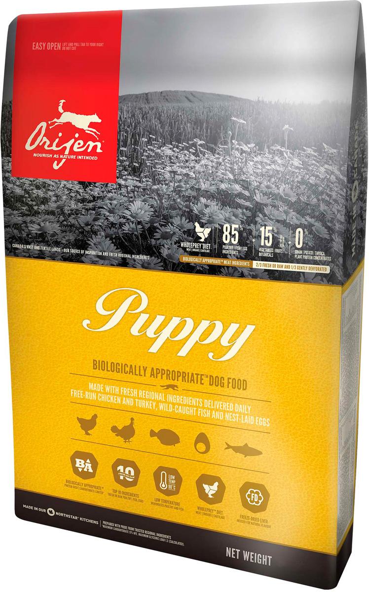 Orijen Puppy 85/15 для щенков маленьких и средних пород (034 кг).