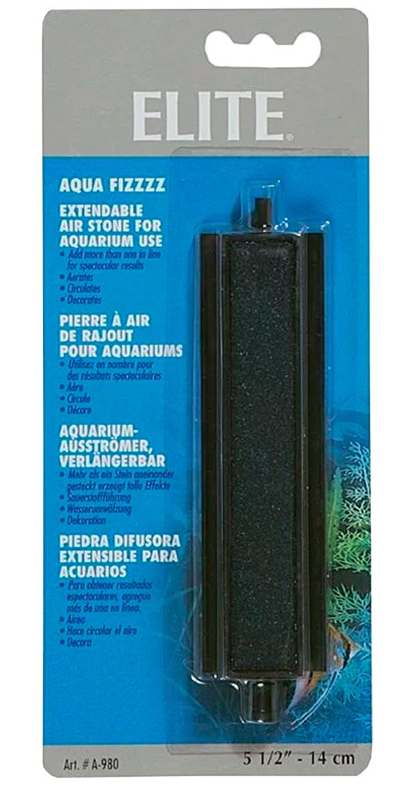 Распылитель воздуха Hagen Elite камень черный 14 см (1 шт)