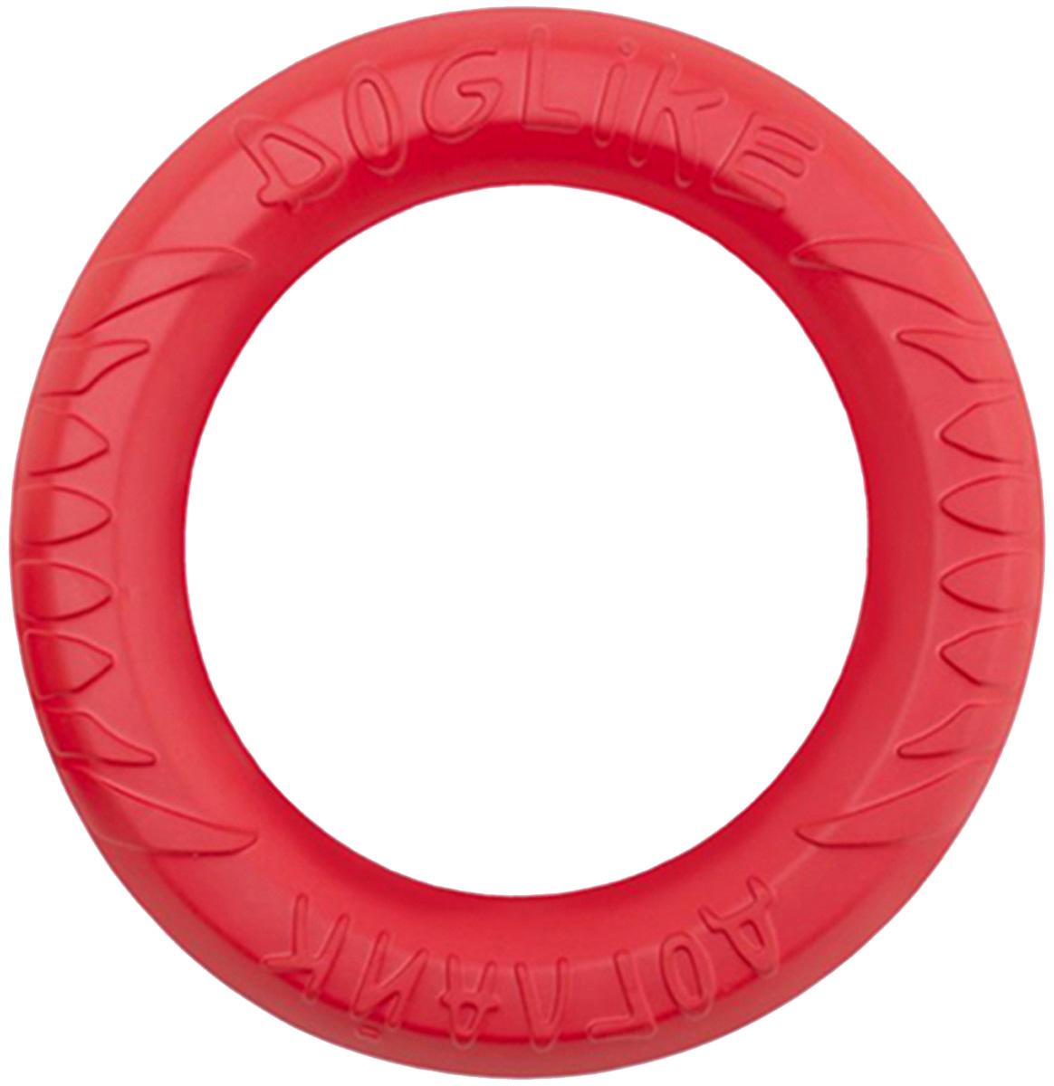 Снаряд Tug & Twist кольцо восьмигранное миниатюрное Doglike коралловый (1 шт)