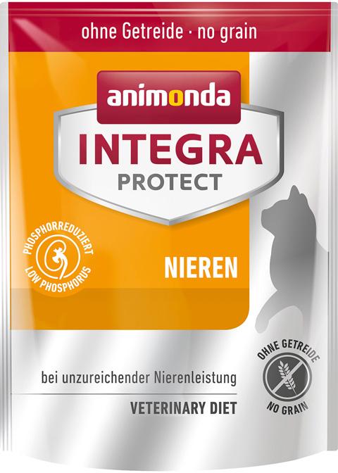 Animonda Integra Protect Cat Nieren Renal для взрослых кошек при хронической почечной недостаточности (0,3 кг)