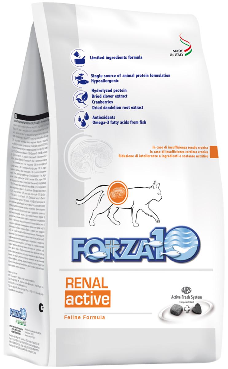 Forza10 Cat Renal Active для взрослых кошек при хронической почечной недостаточности (0,45 кг)