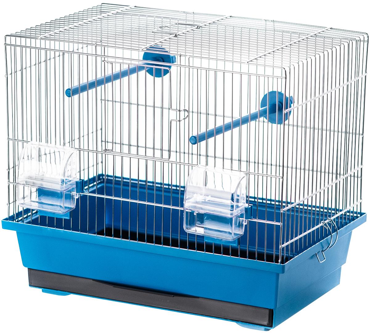 Клетка для птиц Inter-Zoo P056 Kanarek оцинкованная 39 х 25 х 33,5 см (1 шт)