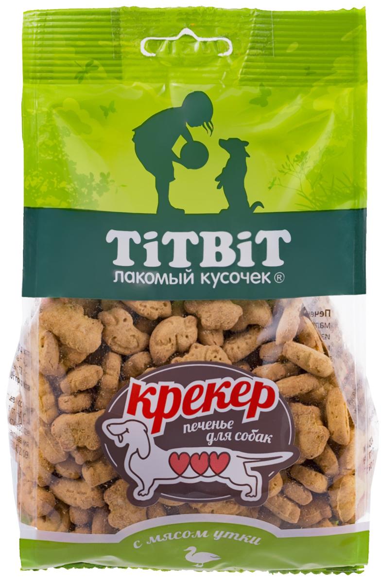 Лакомство Tit Bit для собак маленьких пород крекер с мясом утки (250 гр) лакомство tit bit лакомый кусочек для собак маленьких и средних пород утиные грудки 80 гр