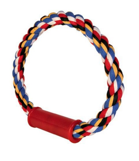 Trixie игрушка для собак «Грейфер пестрый круглый» (30 см)