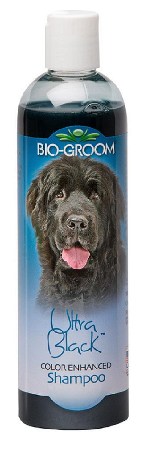 Bio-groom Ultra Black Shampoo – Био-грум шампунь для собак с черной и темной шерстью (355 мл)