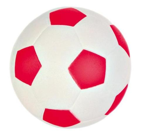 Trixie игрушка для собак «Мяч», мягкая резина (5,5 см)