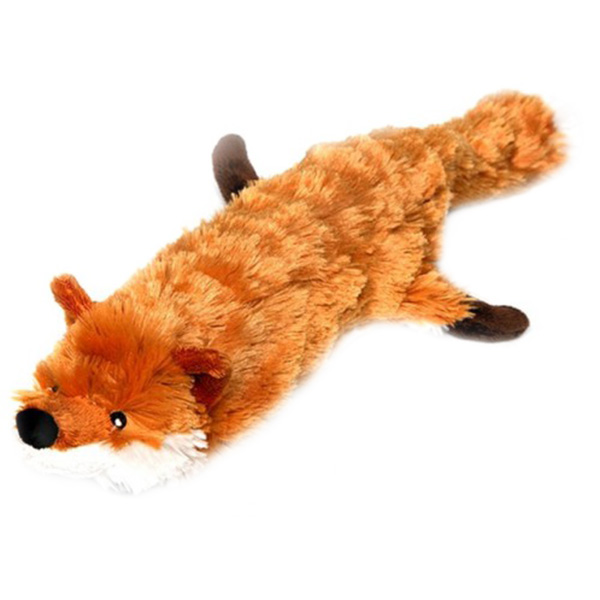 Игрушка для собак GiGwi Лиса с большой пищалкой 63 см (1 шт)