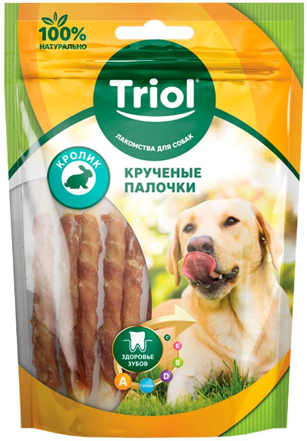 Лакомство Triol для собак палочки крученые с кроликом (70 гр)