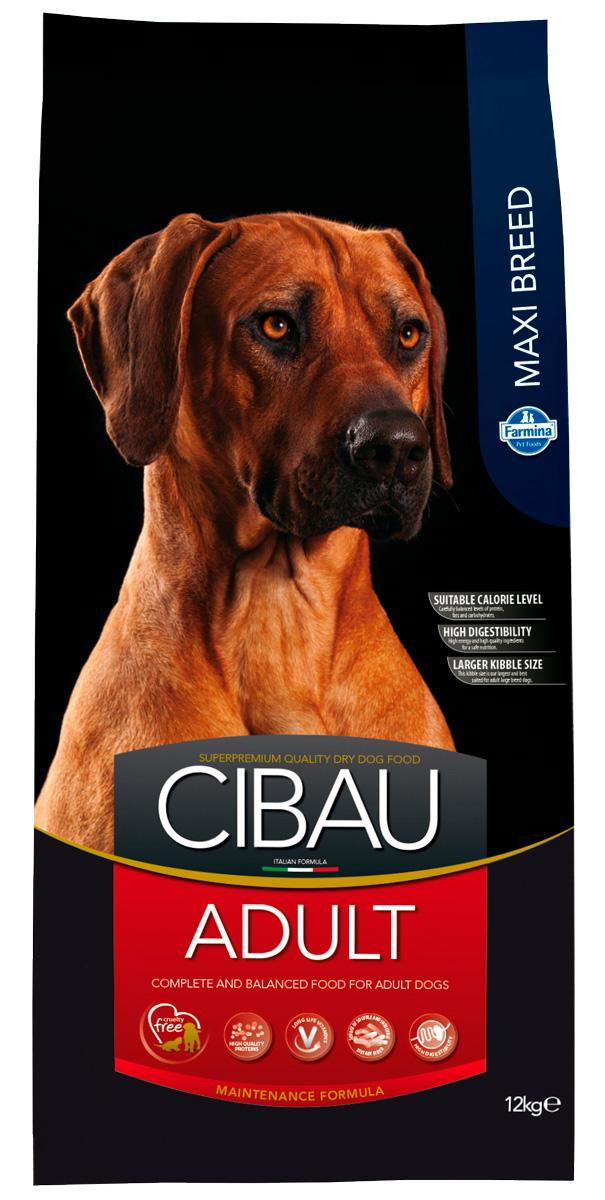 Cibau Adult Maxi для взрослых собак крупных пород с курицей (12 кг)