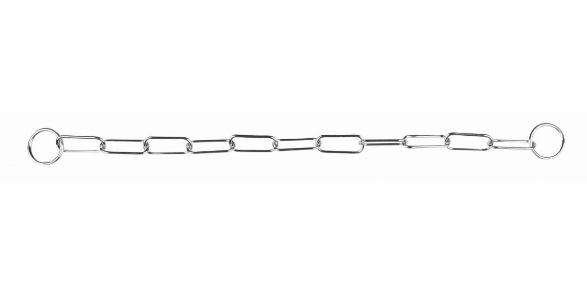 Trixie цепь рывковая для собак с крупным звеном (78 см/4 мм)
