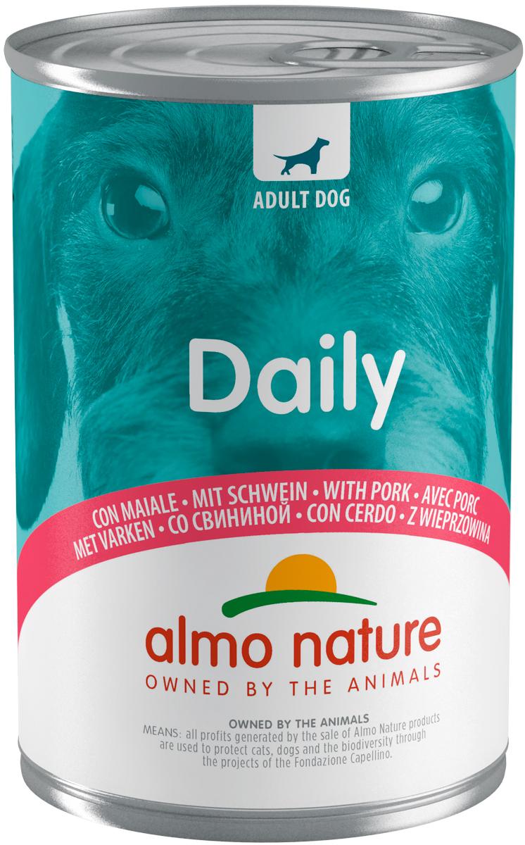 Almo Nature Dog Daily Menu для взрослых собак со свининой 400 гр (400 гр)