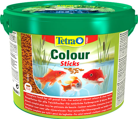 Tetra Pond Colour Sticks корм палочки