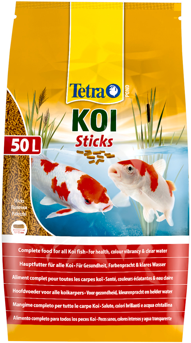 Tetra Pond Koi Sticks — Тетра корм