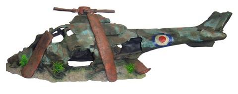 Декор грот для аквариума Вертолет, 79 х 25,5 х 26,5 см, Barbus, Decor 052 (1 шт)