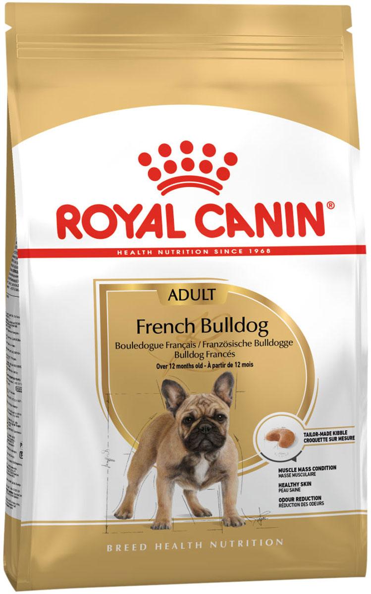 Royal Canin French Bulldog Adult для взрослых собак французский бульдог (9 + 9 кг) фото