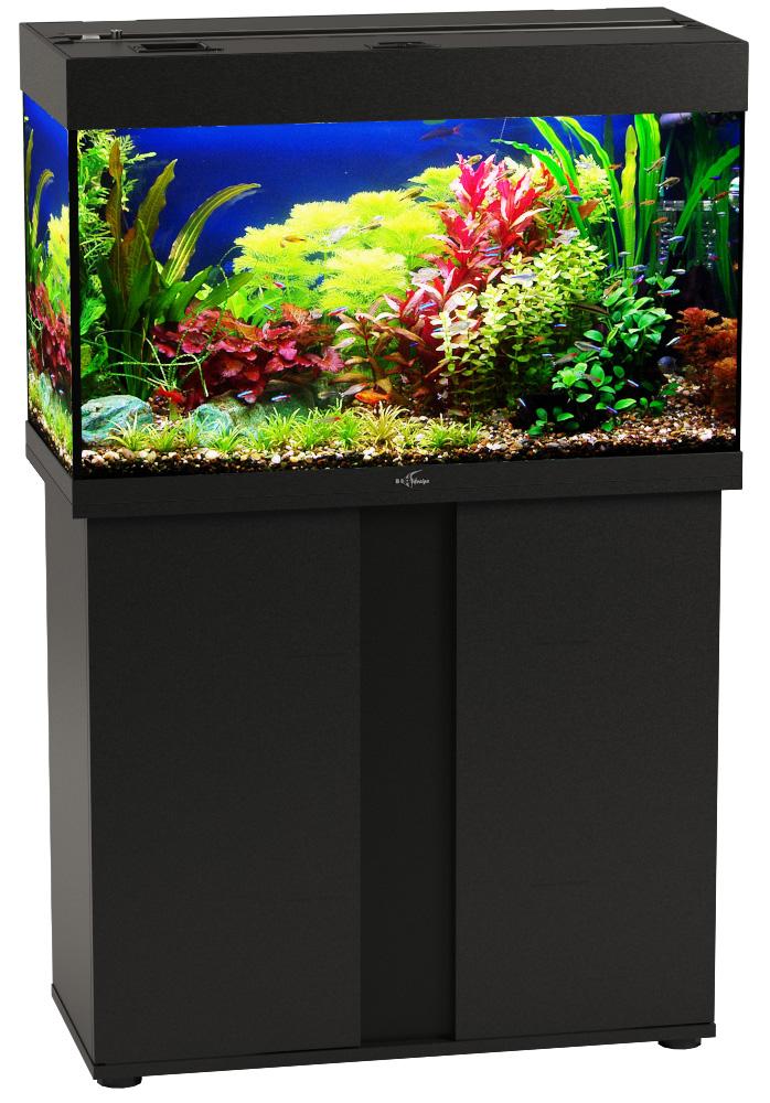Аквариум и тумба Биодизайн Риф 125 черный (Аквариум) фото