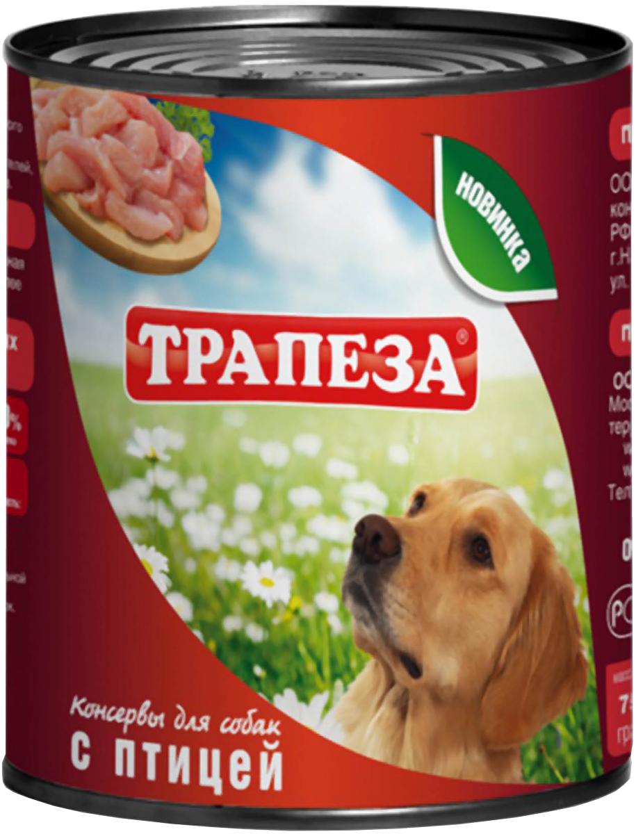 трапеза для собак с птицей 750 гр (750 гр)